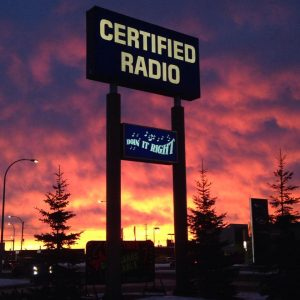Certified Radio